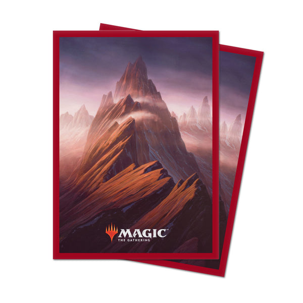 MtG Sleeves Unstable Land Mountain (100)