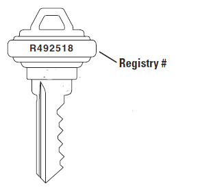 Acme Registered Key Cut