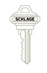 "Schlage Original Key Blank  ""C"" (same as SC-1)"