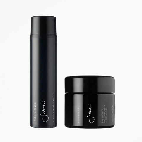 Balance Duo for Oily & Combination Skin - Balancing Cleanser & Moisturiser