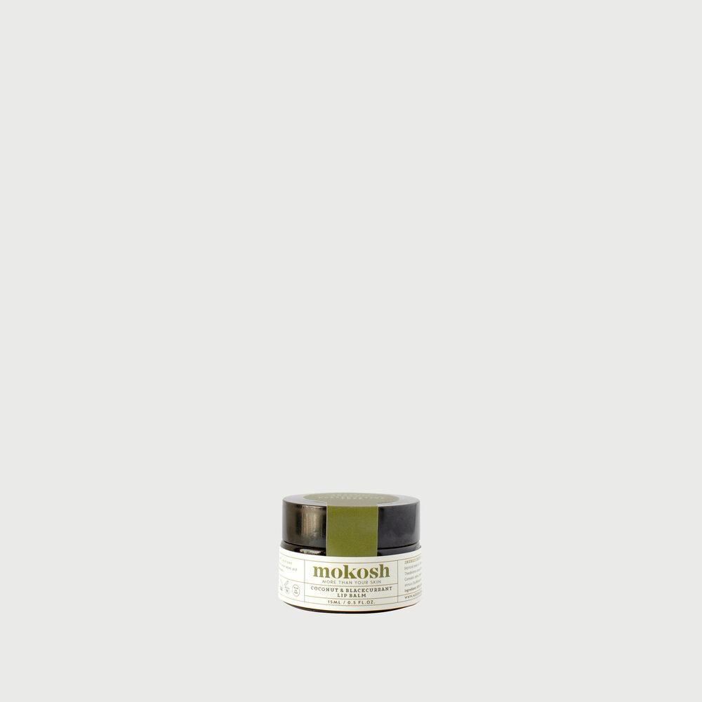 Mokosh Coconut & Blackcurrant Lip Balm 15ml