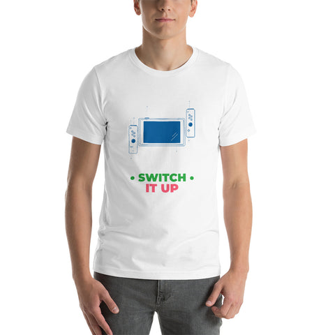 Switch is up - Short-Sleeve Unisex T-Shirt (multi color)