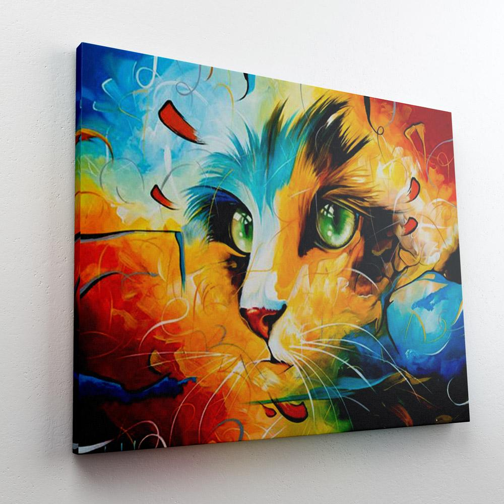Colorful Cat 3