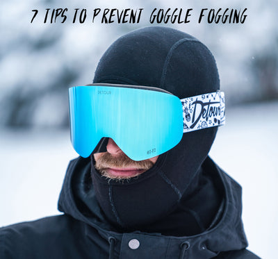 7 Tips to Prevent Goggle Fogging
