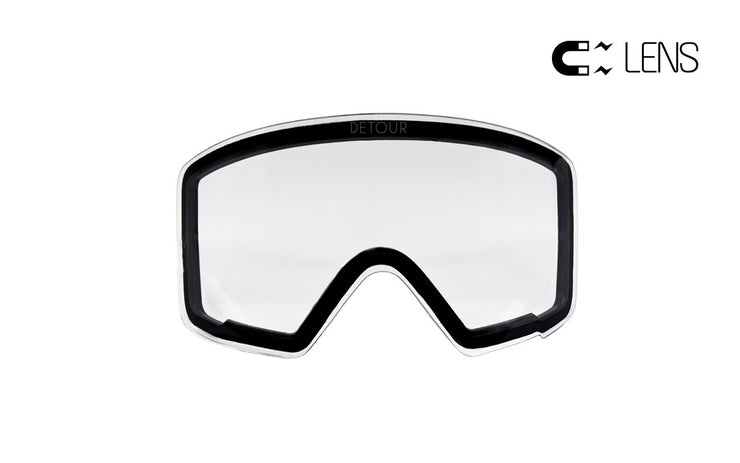 Axis Snow Crystal Clear goggles for winter sports