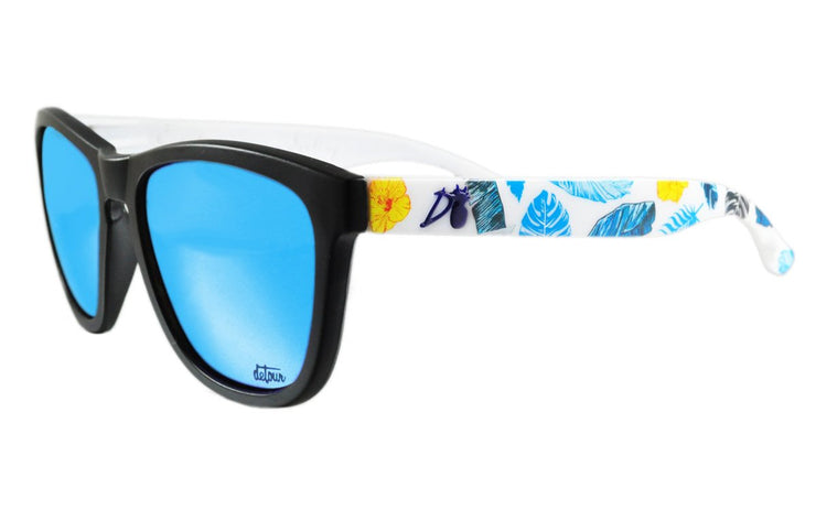 Essentials - Blue Hawaiian - Electric Blue Lens Polarized - Essentials
