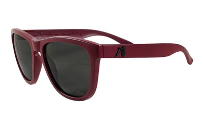 Essentials - Burgundy - Jet Black Lens Polarized - Essentials