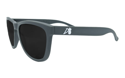 Essentials - Matte Gray - Jet Black Lens Polarized - Essentials