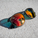 Hurricane - Hurricane - Gray Frost - Red Sunset Polarized