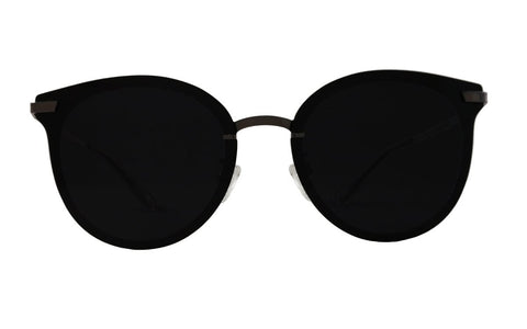 Jet Black Lens Polarized - Riptide