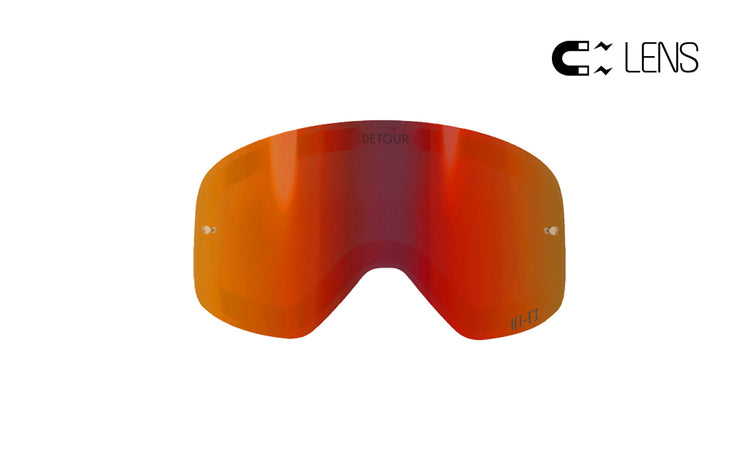 PowPow Moto - Tropical Sunset - HI-FI Spare QuickGrip Lens