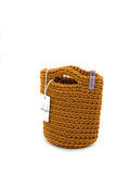 Tote Bag Scandinavian Style  Fox Crochet Tote Bag Handmade Size MINI