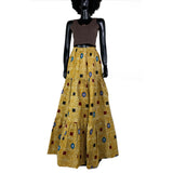 I will take you to my mother African wax skirt