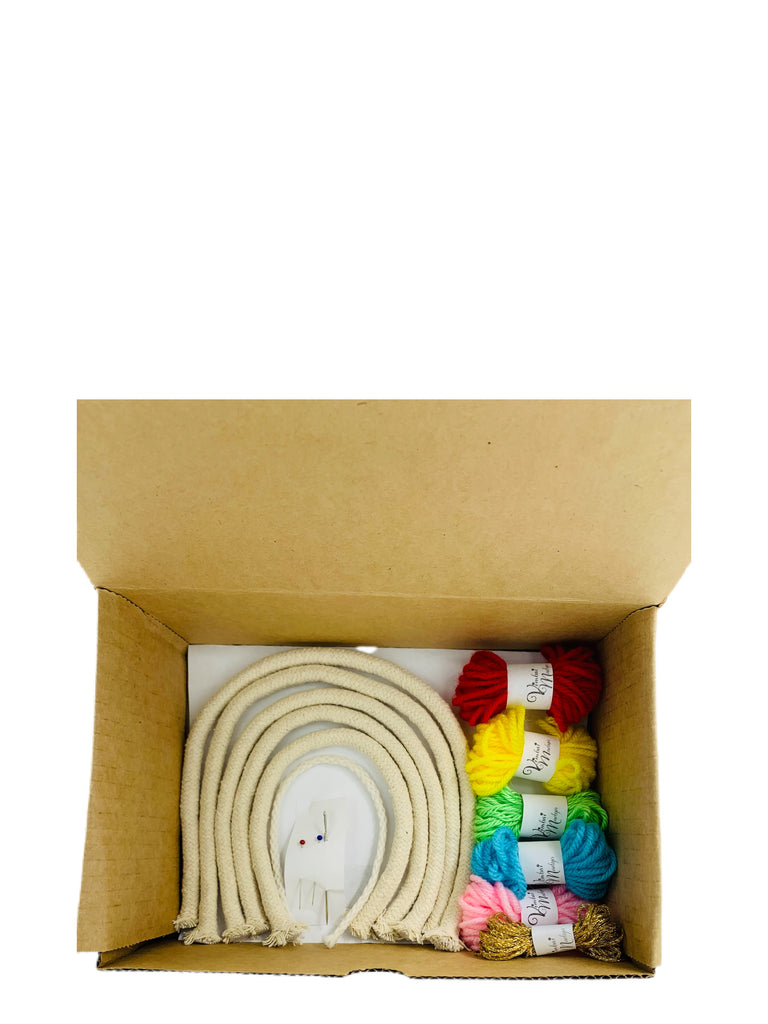 Rainbow Macramé DIY Kit