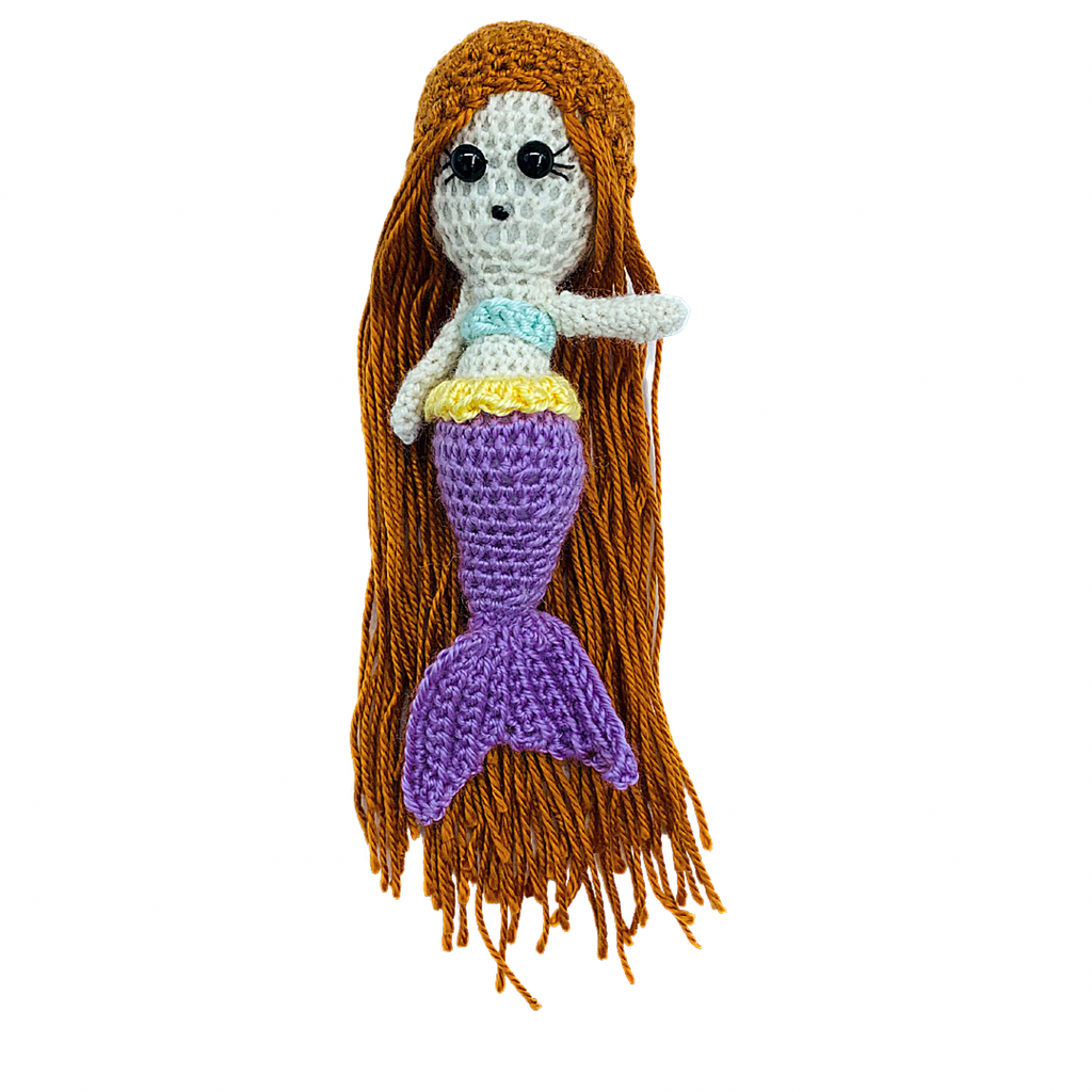 Mermaid Crochet Doll