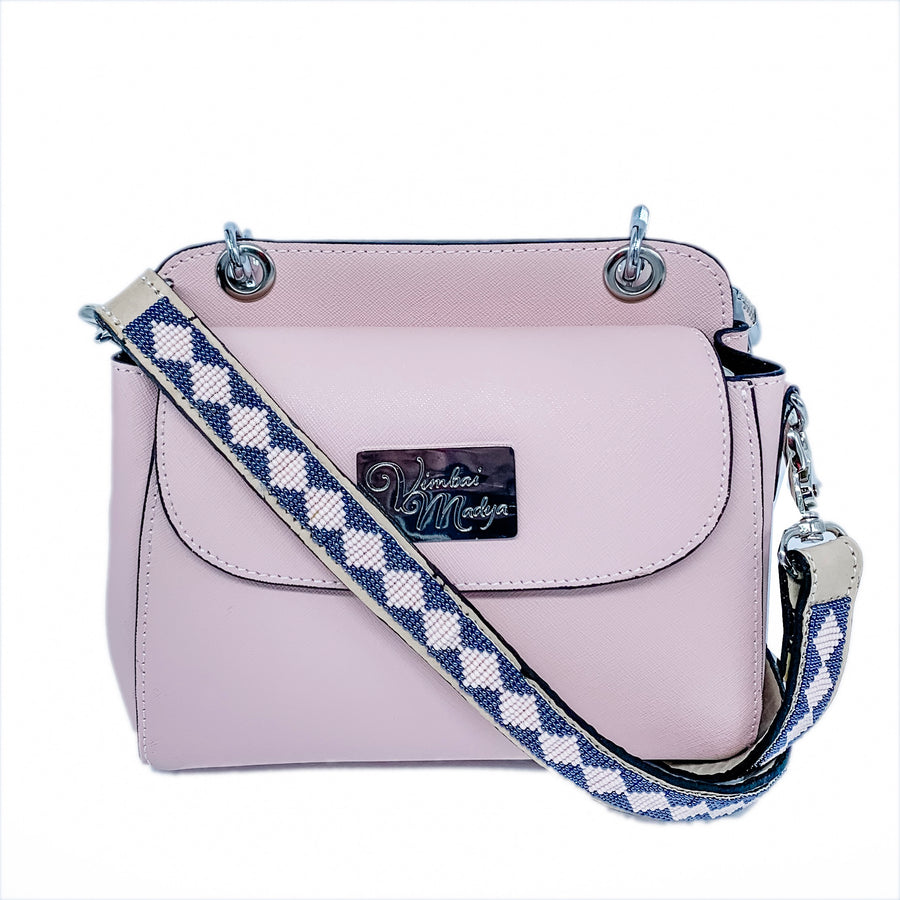 Kenya Mini Leather Bag with interchangeable set of straps and handles