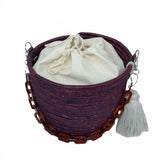 Handwoven Basket Bag Uganda