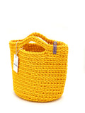 Scandinavian Style Handmade Crochet Tote Bag Sunflower