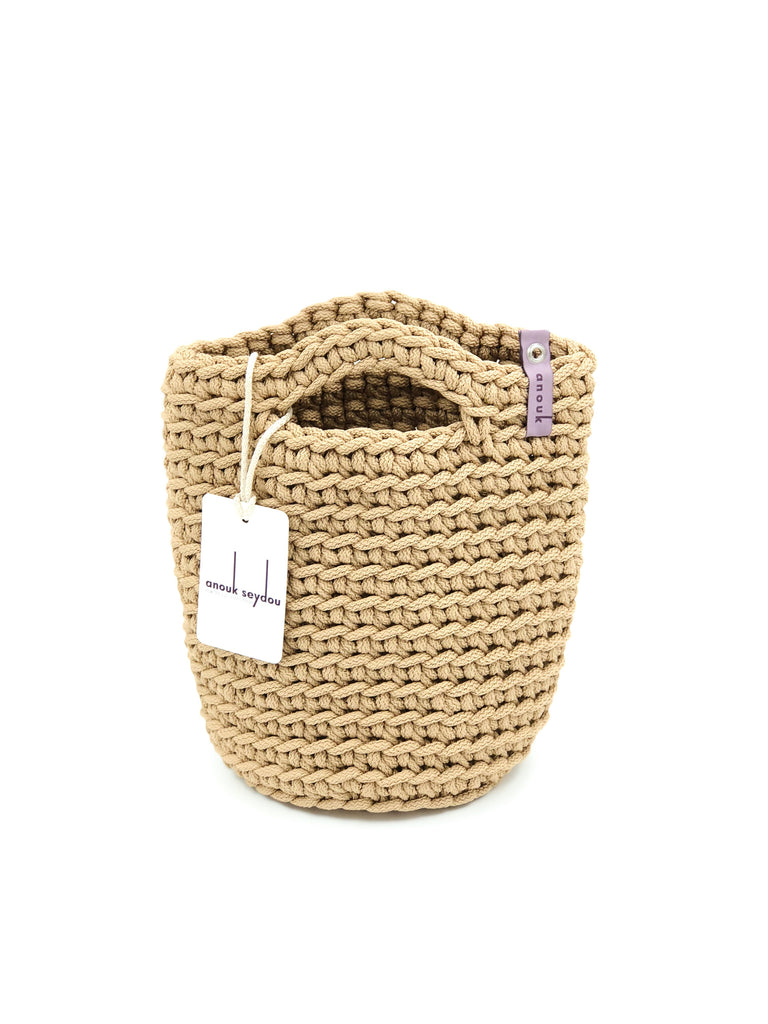 Girls Crochet Mini Handbag