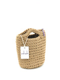 Tote Bag Scandinavian Style White Coffee Size MINI