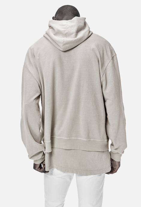 Beige Oversized Cropped Hoodie John Elliott + Co Discount For Nice Purchase Online Cheap Sale Best Sale Discount Manchester Great Sale wUVQTi