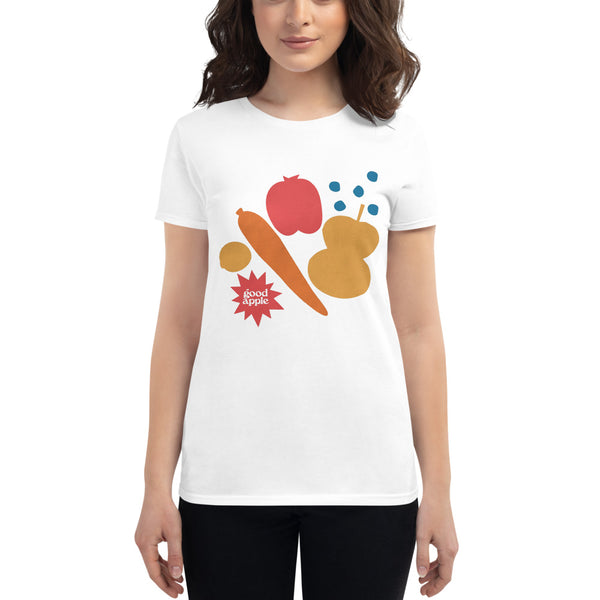 Good Apple - Produce Art Women's short sleeve t-shirt