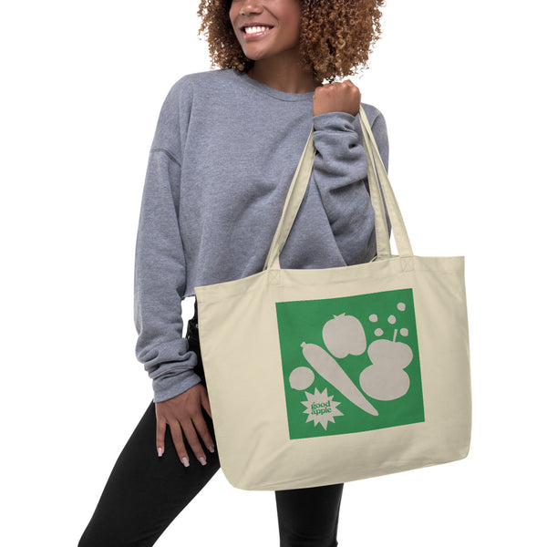 Good Apple - Extra Long Organic Tote Bag