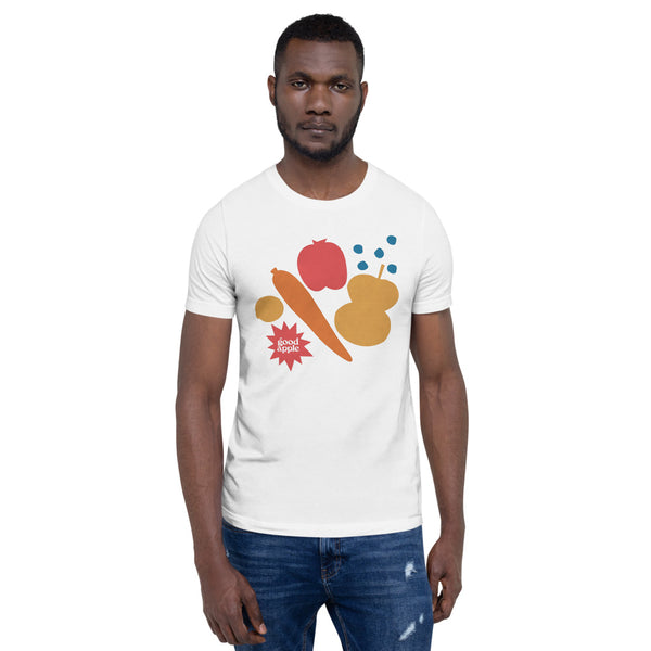 Good Apple - Produce Art Short-Sleeve Unisex T-Shirt