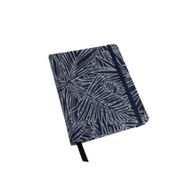 Load image into Gallery viewer, Handmade Notebook, Fabric Cover Notebook, Hard Cover Notebook, Palm Leaves Cover Notebook