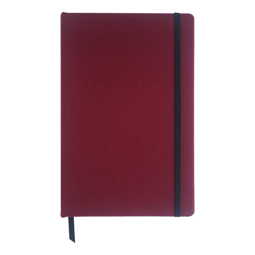 Burgundy Canvas - Hard Cover