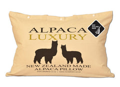 Novadown 50/50 Luxury Alpaca Pillow - Made in NZ
