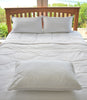 Novadown Bamboo Pillow on bed