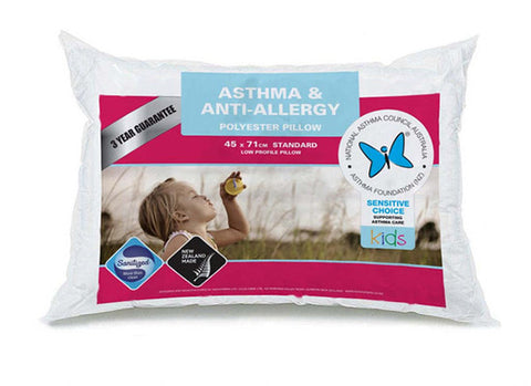 Asthma & Anti-Allergy Pillow - MADE IN NZ