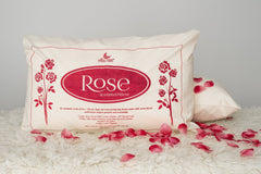 Rose Pillow - MADE IN NZ
