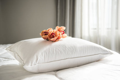 80% White Goose Down Pillow - Made in NZ