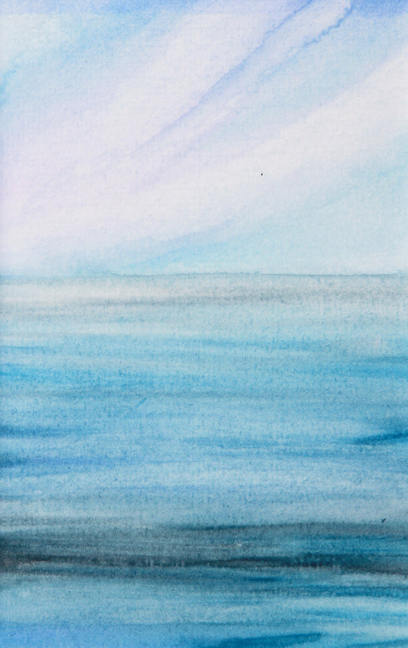 Cornish Sea Scape Number 3
