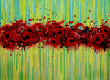 Glory - Abstract Poppies