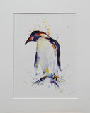 Penguin (Number One) Watercolour