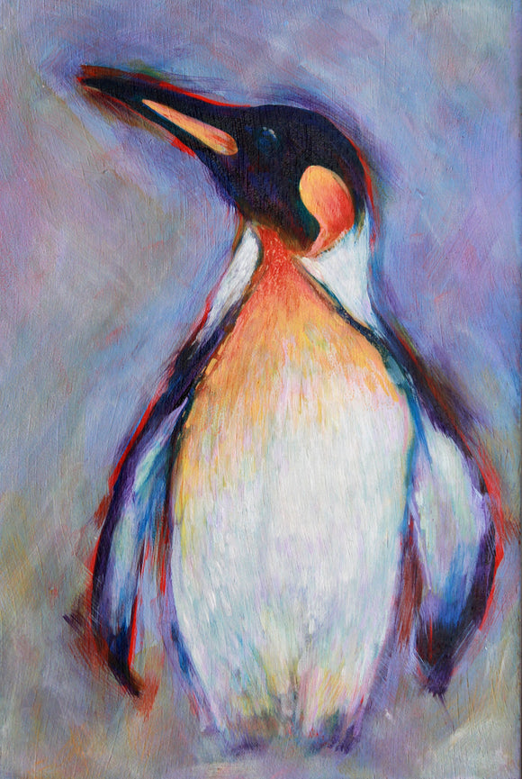 Penguin (Number Three) Painting