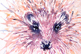 HEDGEHOG #Three Watercolour