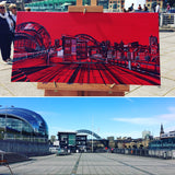 Painting the TOON RED ( Sky Arts LAOTY)