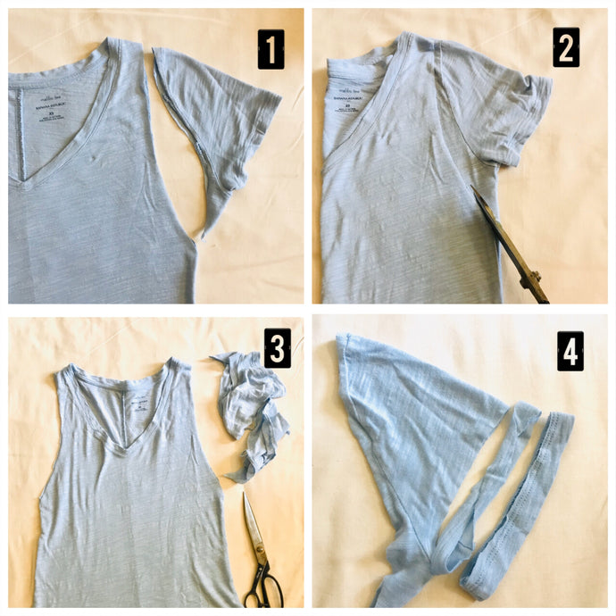 Enjoy Upcycling Your Old T shirts