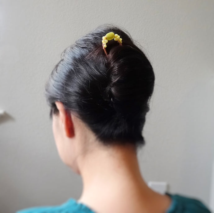 Easy Updo Hair Styles With Hairpins