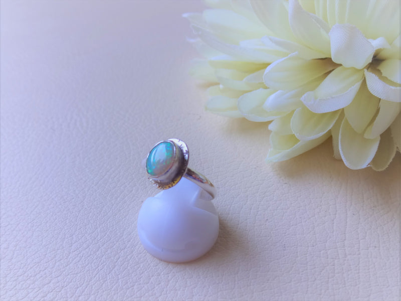New items! Opal ring