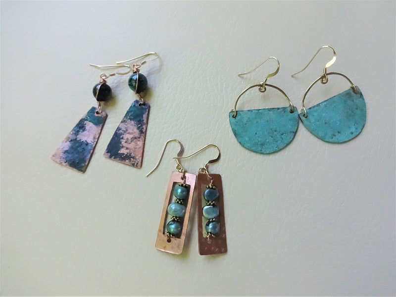 New items! Boho-chic Earrings