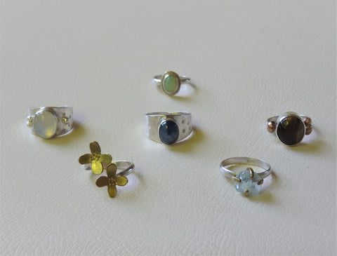 Ring collection, Yoko's Jewelry