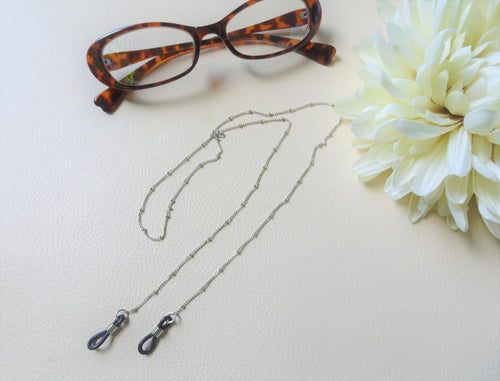 Silver Eye Glasses Chain,  Sunglasses Lanyard.