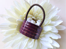 Load image into Gallery viewer, Violet Red Pony Holder, Ponytail Cuff.