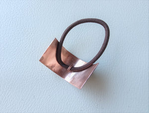 Copper Boho-chic Ponytail Cuff