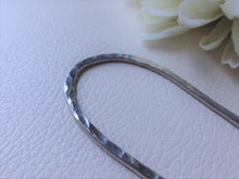 Load image into Gallery viewer, Silver Handforged Hair Stick, Zigzag Hair Pins For Long Hair.